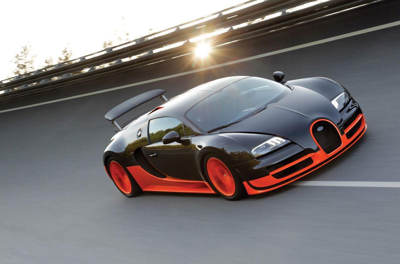 Captivating Bugatti Veyron Super Sports, #1 Fastest Car In The World, Goes 267 Miles Design