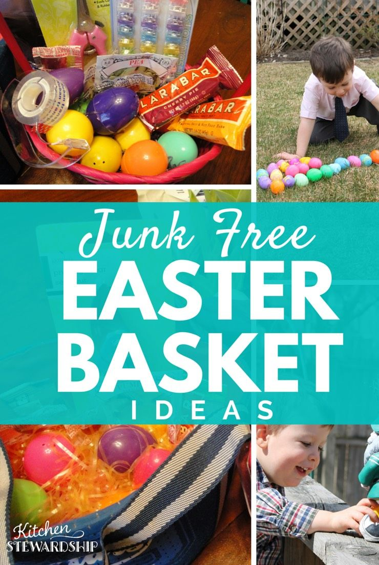 Healthy easter basket ideas without candy no junk either real food healthy easter basket ideas with no junk negle Image collections