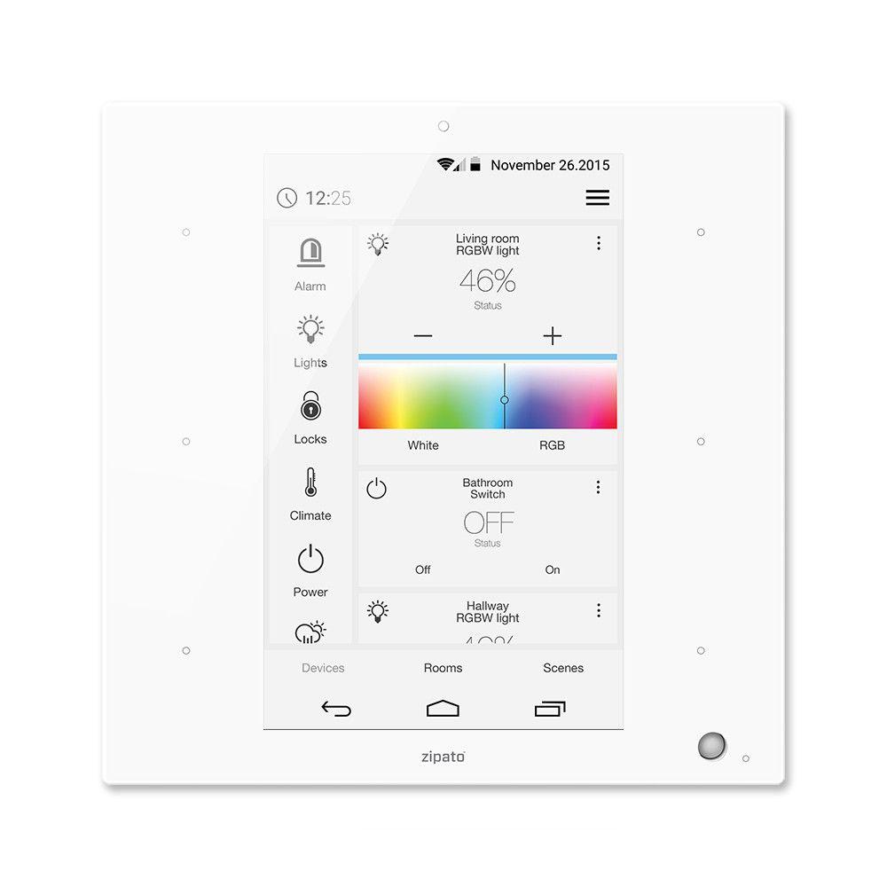 Zipato Zipatile Z Wave Plus Home Automation Controller Zt Zwus Haustechnik Do It Yourself Home Und Technik