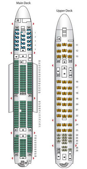 The Qantas A380 Seats Business And Premium Economy Passengers