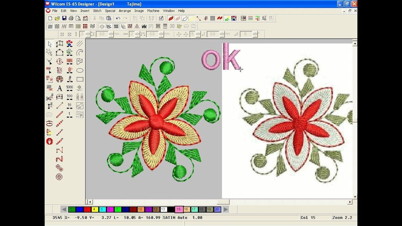 How To Make Computer Embroidery Design Embroidery Machine Design P Machine Embroidery Designs Computer Embroidery Embroidery Designs