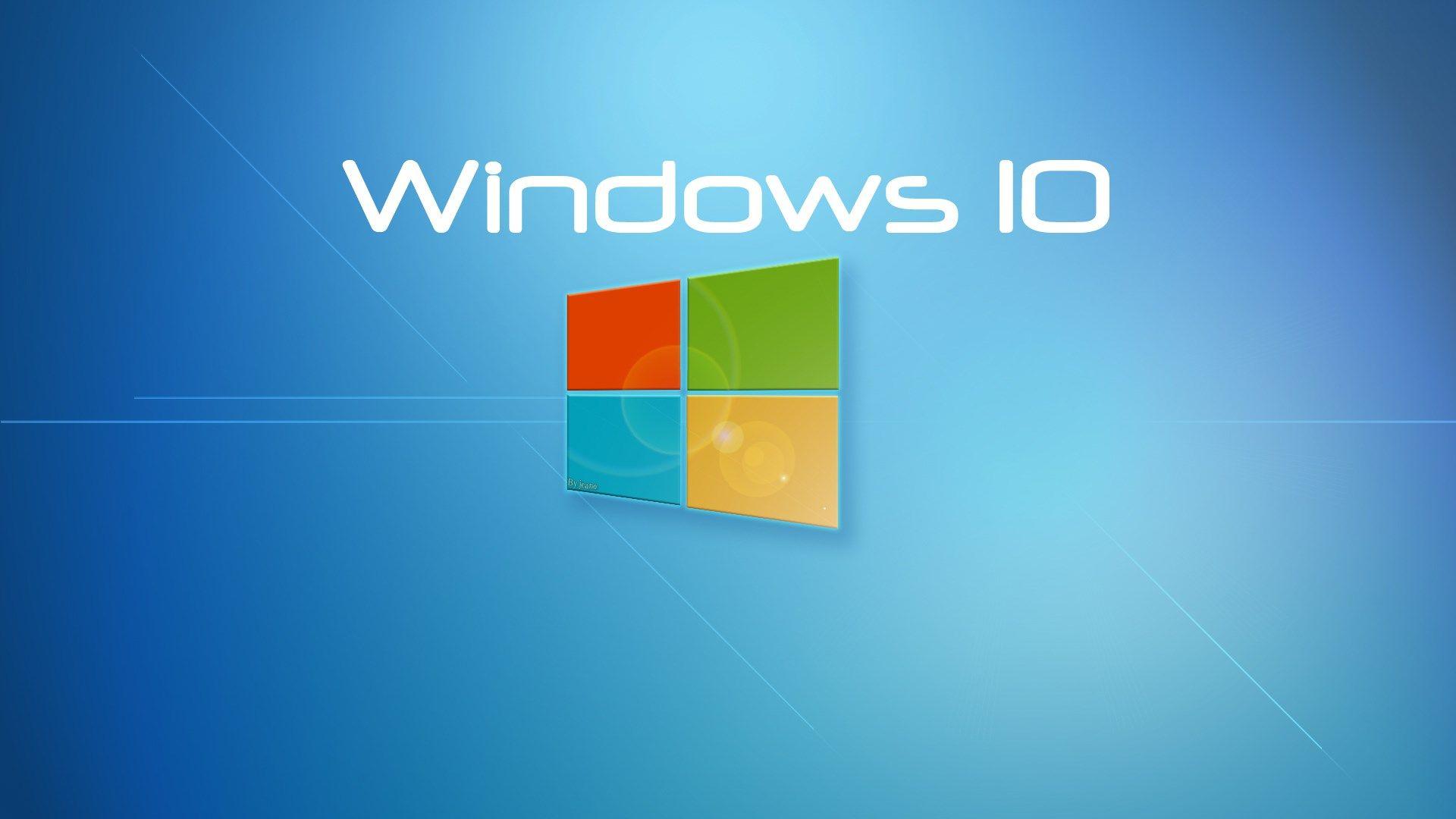 Hd Windows 10 Wallpaper Windows 10 Logo Windows 10 Windows 10 Features