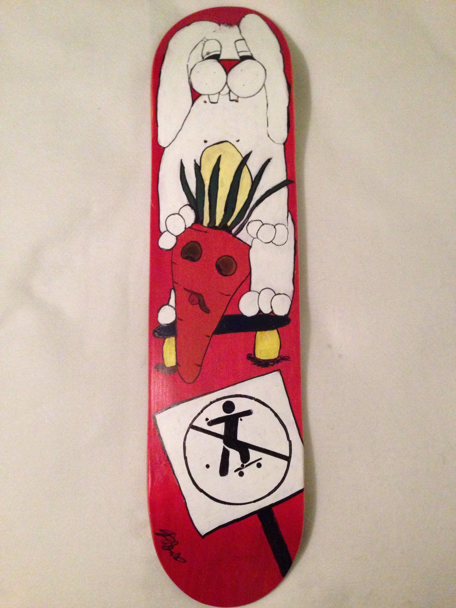 660492cd6c Discount Skateboards Art Palacios Rabbit Fever Deck 8