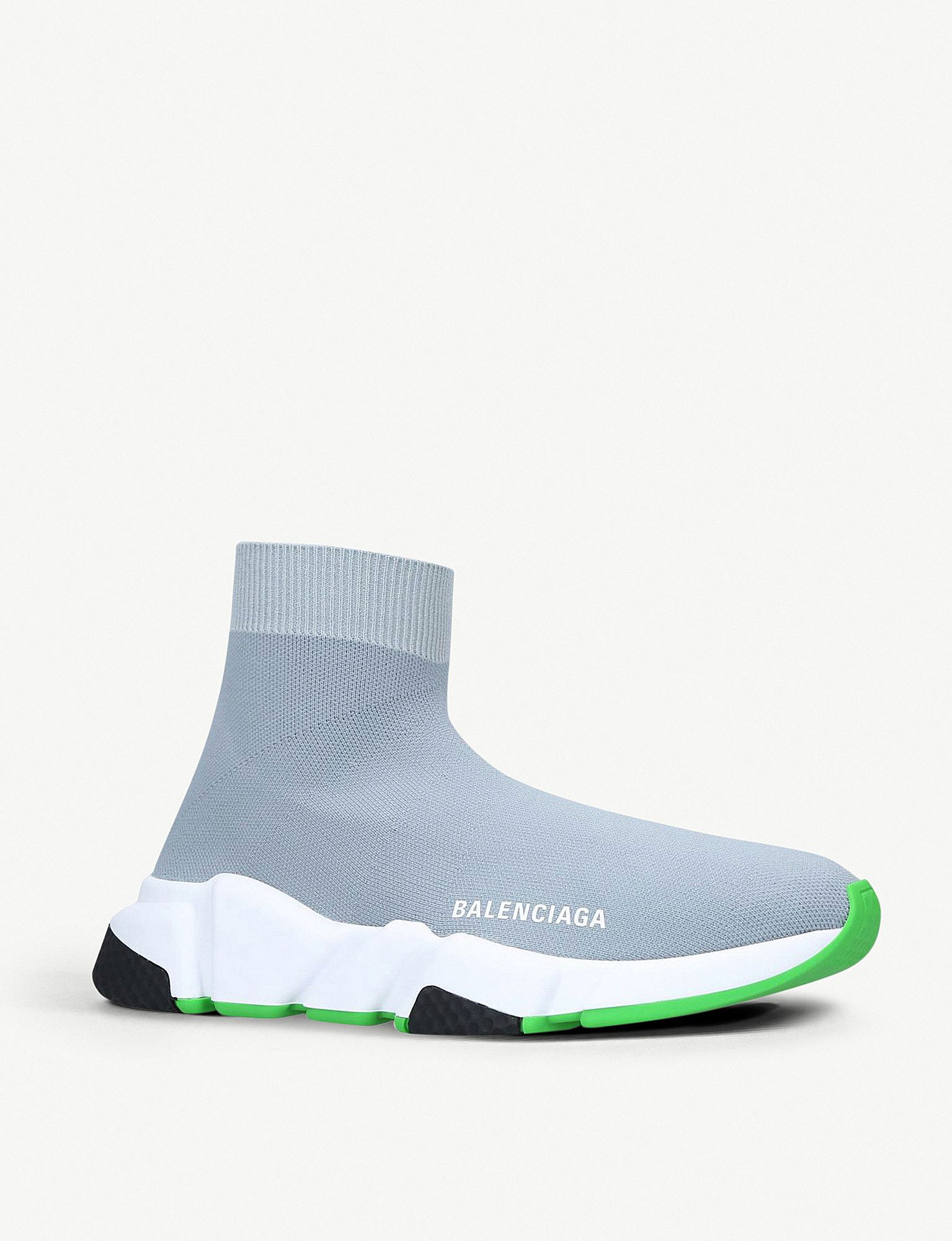 Balenciaga Speed Knitted High Top Trainers Balenciaga Trainers