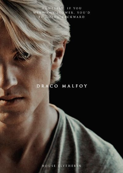 Leah is new to Hogwarts. And she's friends with the famous trio. And she fell in love. With one and only Draco Malfoy.