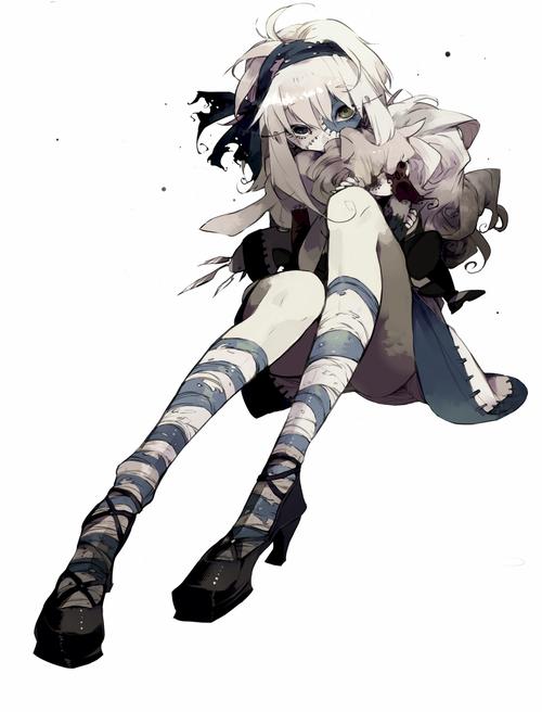 Anime Zombie Characters : Anime zombie dark goth manga pinterest