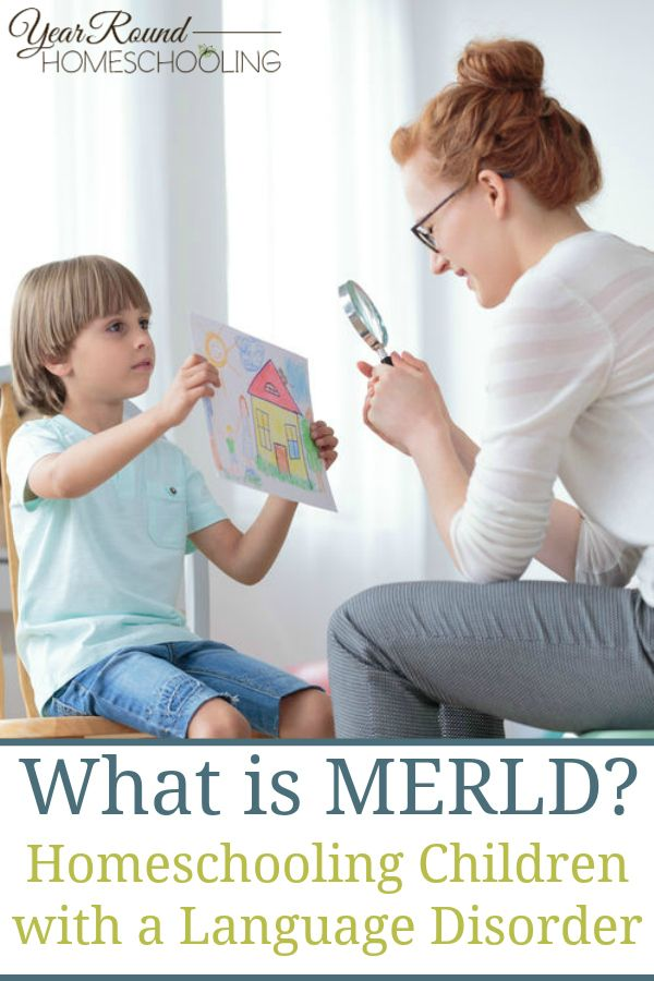What is MERLD  Homeschooling Children with a Language Disorder is part of Homeschool, Language disorders, Homeschool kids, Homeschool encouragement, Language development, Homeschool inspiration - Homeschooling with a language disorder can be challenging, even scary  In this first post, I describe what MERLD is and what parents need to know about it