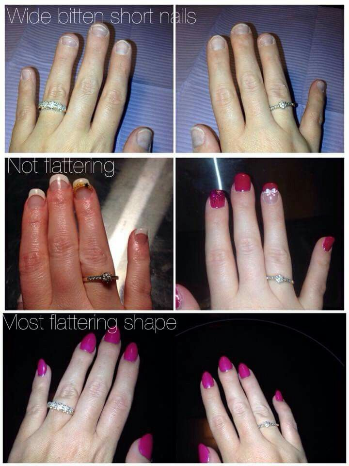 Nail Shapes For Short Fingers | Best Nail Designs 2018