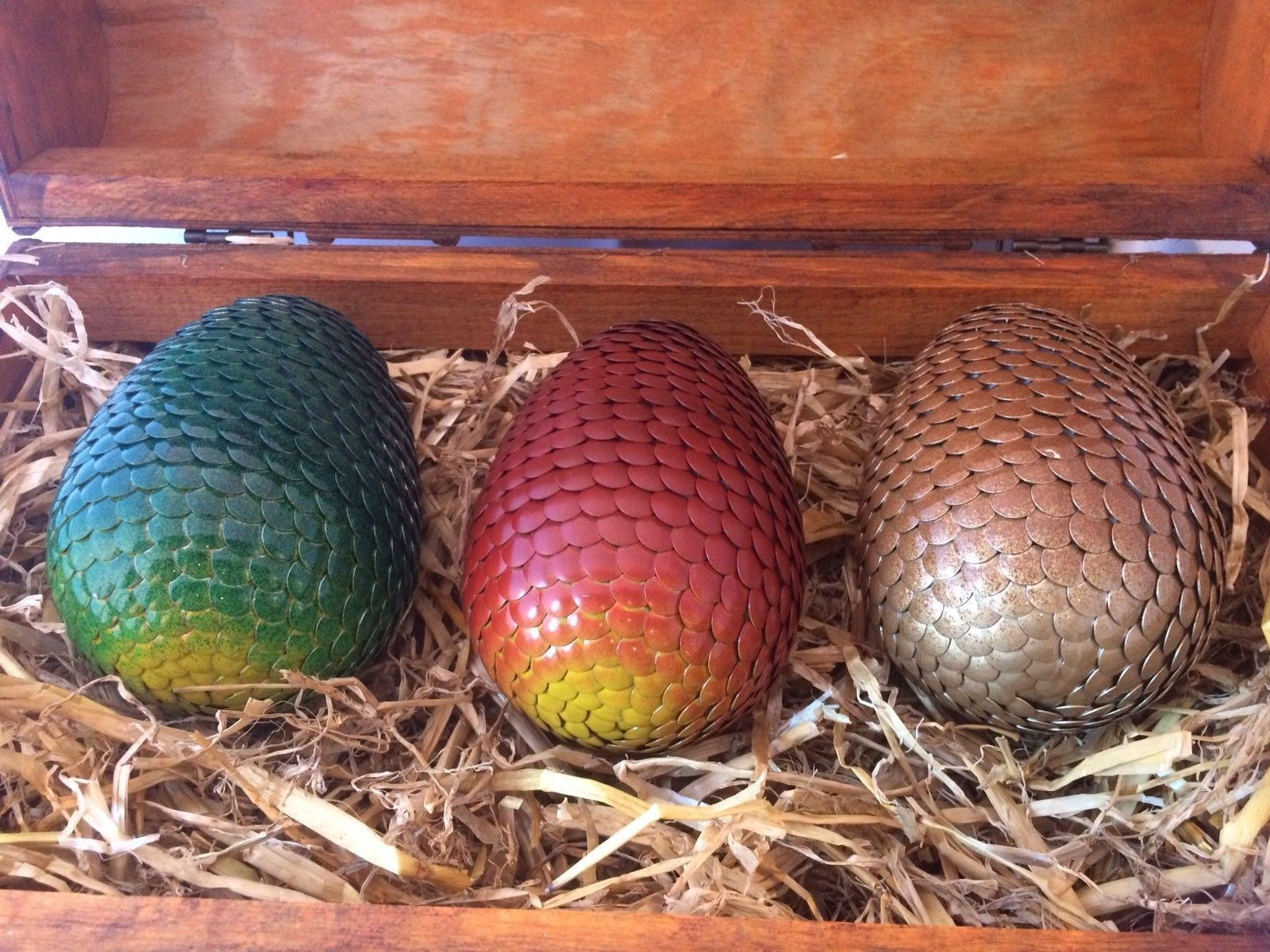 Dragon Egg Set Of 3 Game Of Thrones Collectable Cosplay Fantasy