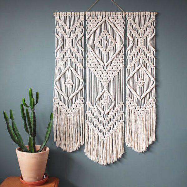 A Macrame Wall Hanging
