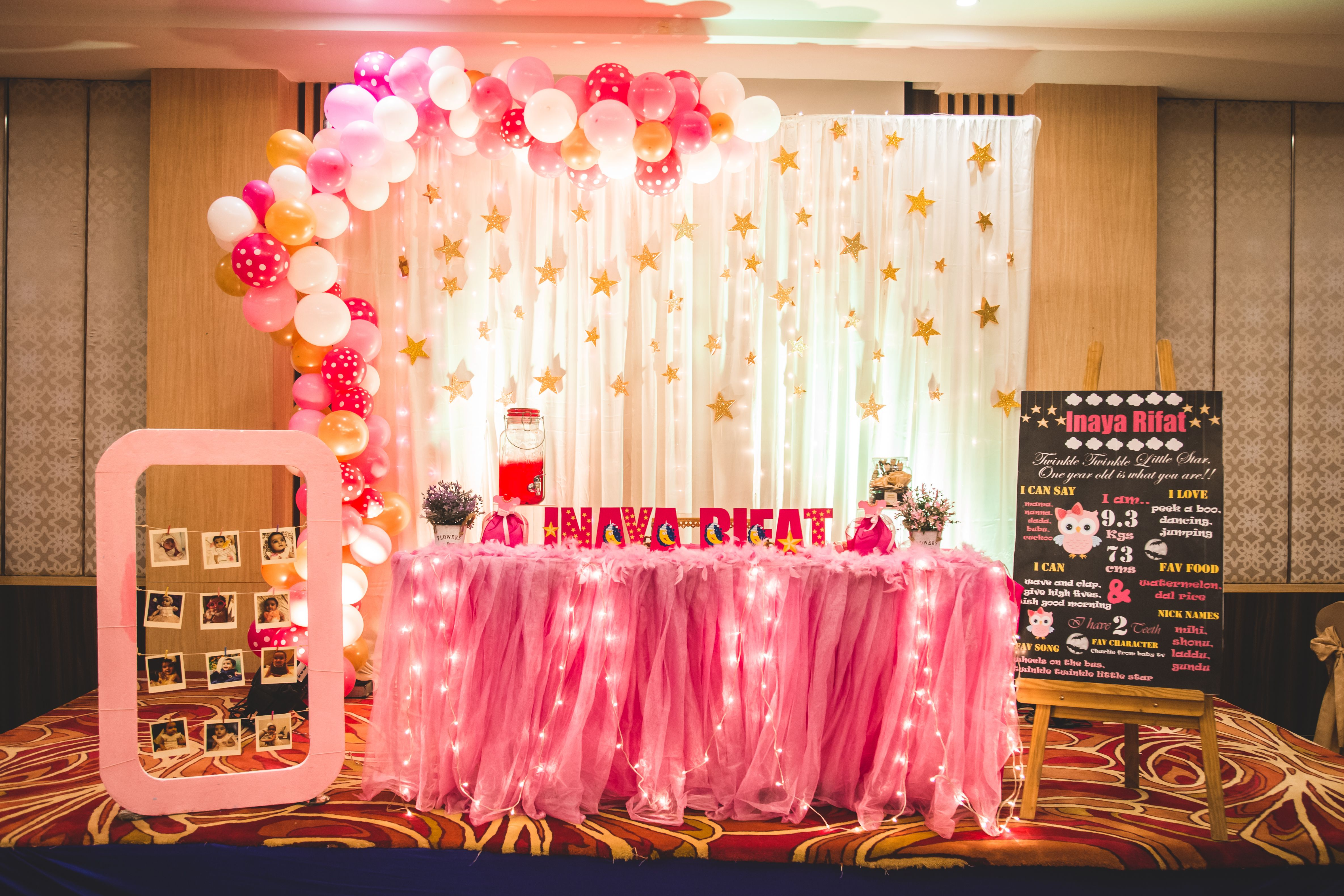 Pin By Bonjour Events On Birthday Party Decoration Ideas Birthday Party Decorations Outdoor Birthday Decorations Anniversary Decorations