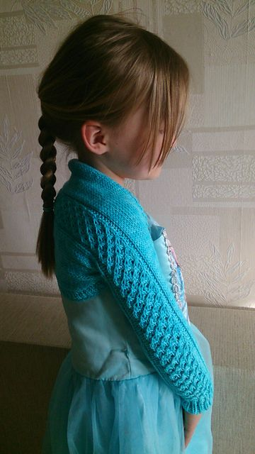 Bolero/sleeves pattern by Kirsti Ummelas | Knitting for ...