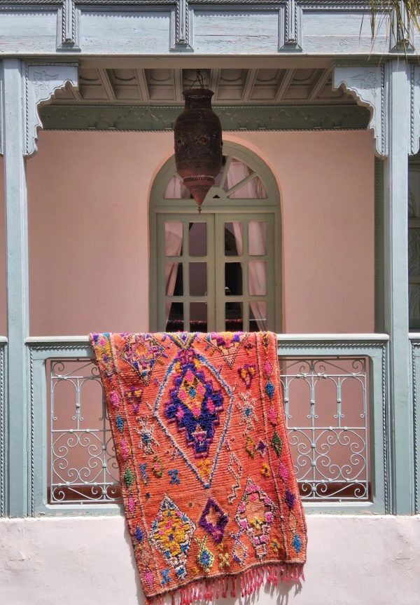 Where To Buy Colorful Vintage Moroccan Rugs (My Fa