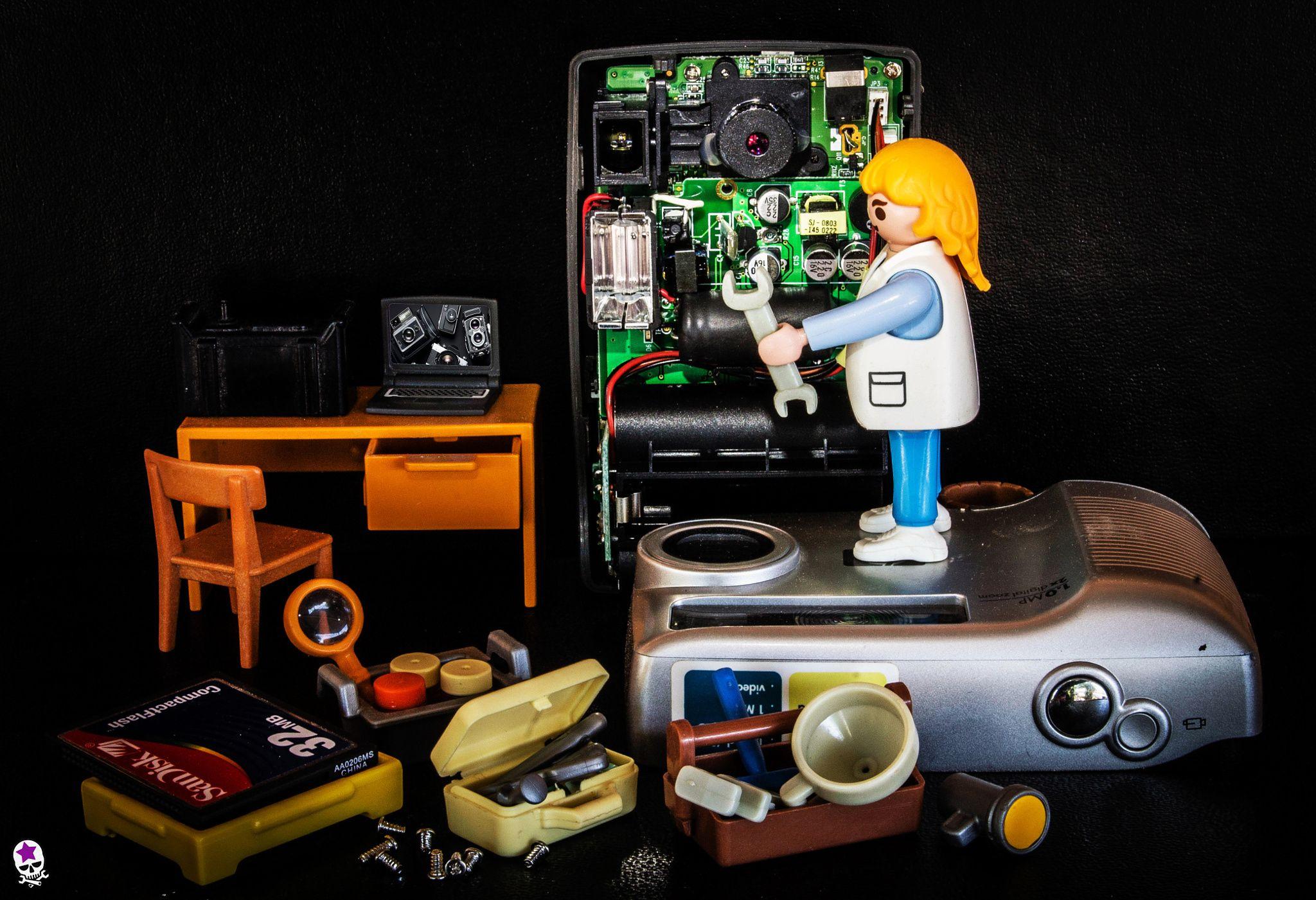 Fotografía Servício técnico de reparación de cámaras de fotos por Juan Carlos Cañadilla en 500px