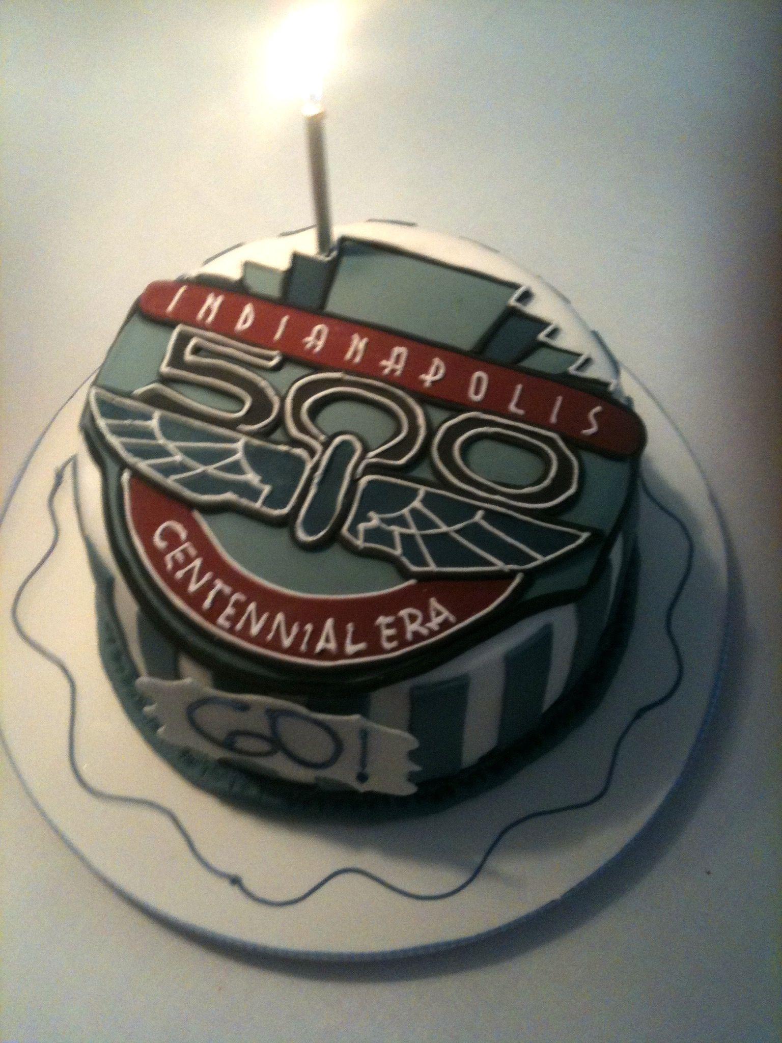 Carlo Gancia's 60th birthday cake, Indy 500 style.   Recipes   60th ...