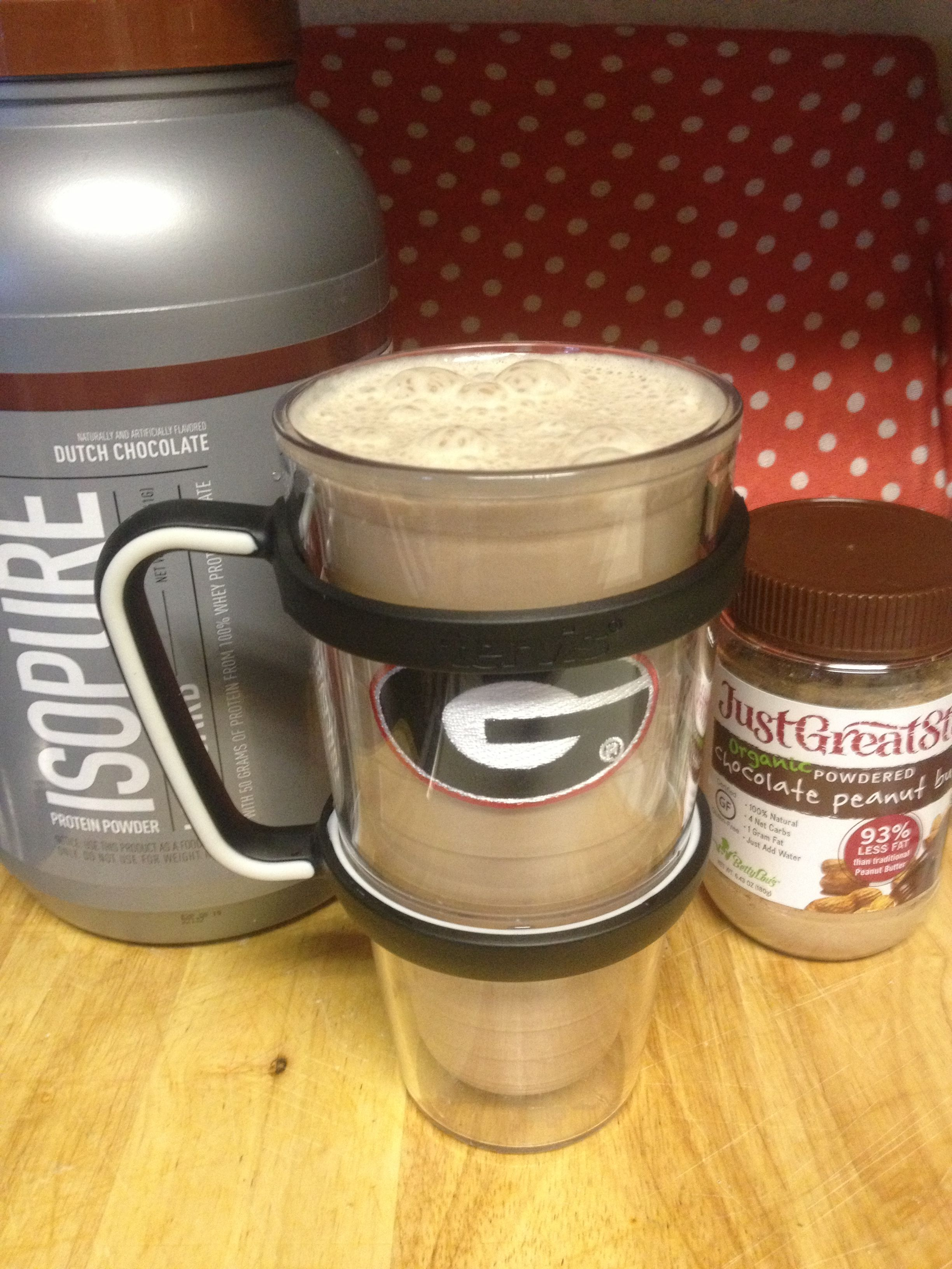 VSG Peanut Butter Cup Protein Shake 4-5 grams sugar, no carbs, lots