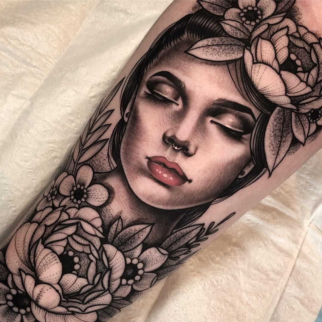 Pin Von Cheo Auf Tattoo Portraits Tattoo