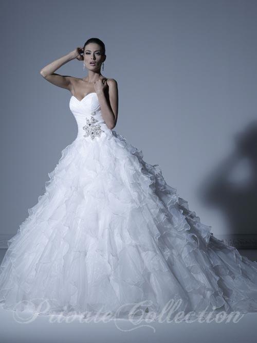 vestido de novia private collection modelo 18877 disponible en la