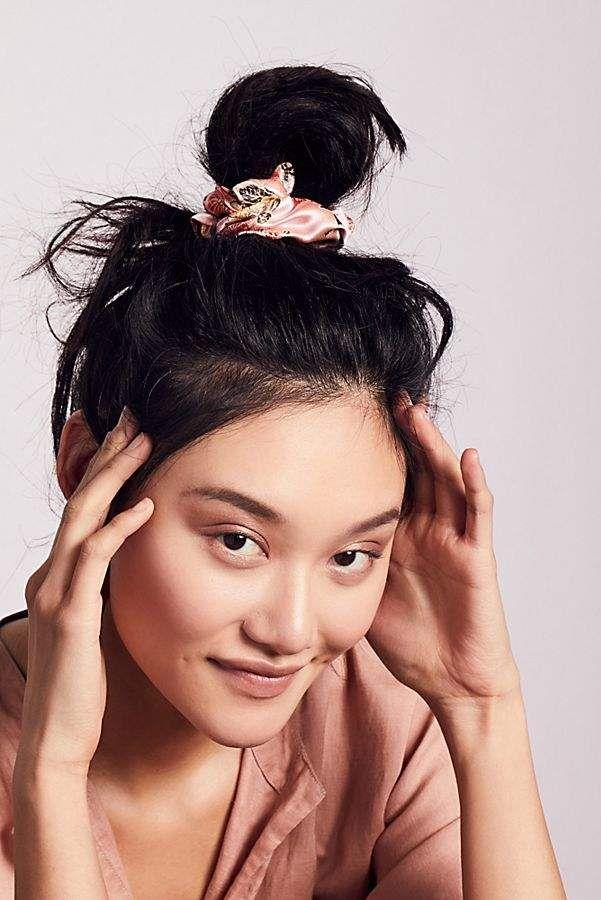 Silk Brocade Scrunchie En 2019 Products Scrunchies