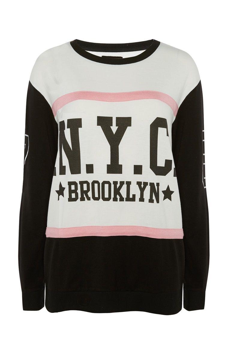 cedd7d480 Primark - NYC Brooklyn Sweater