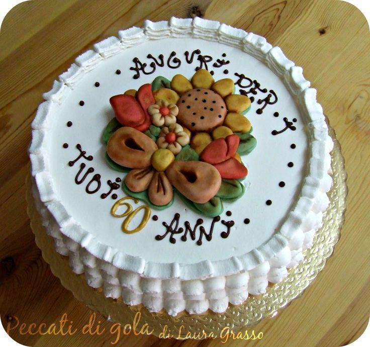 Torta Compleanno 60.Torta Thun Per I 60 Anni Di Mamma Torte