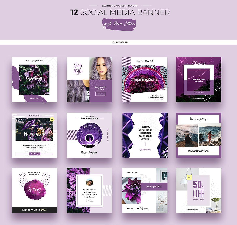 Social Media Banner Social Media Banner Social Media Design Banner Design