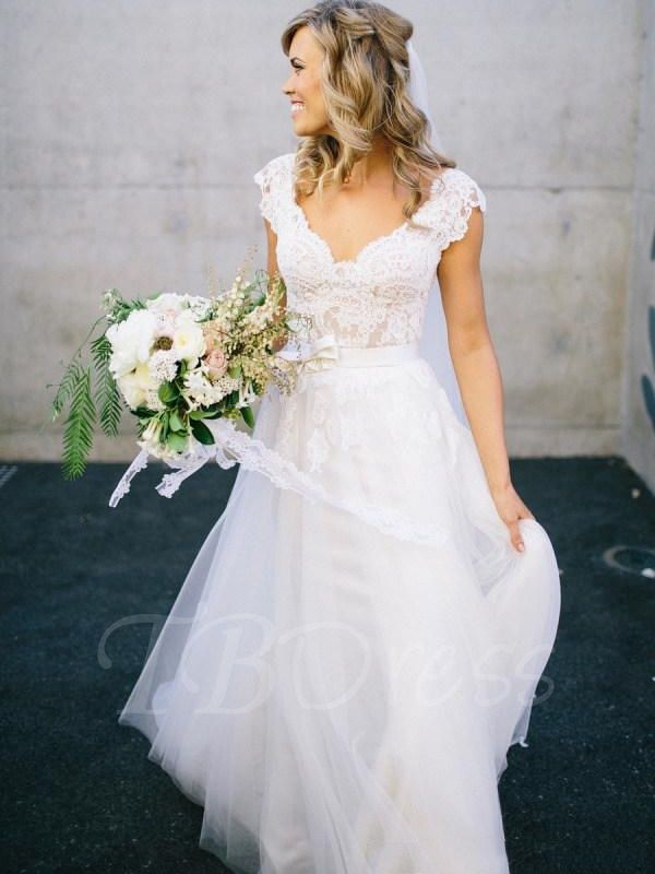 The 25 Best Aline Wedding Dress Lace Ideas On Pinterest