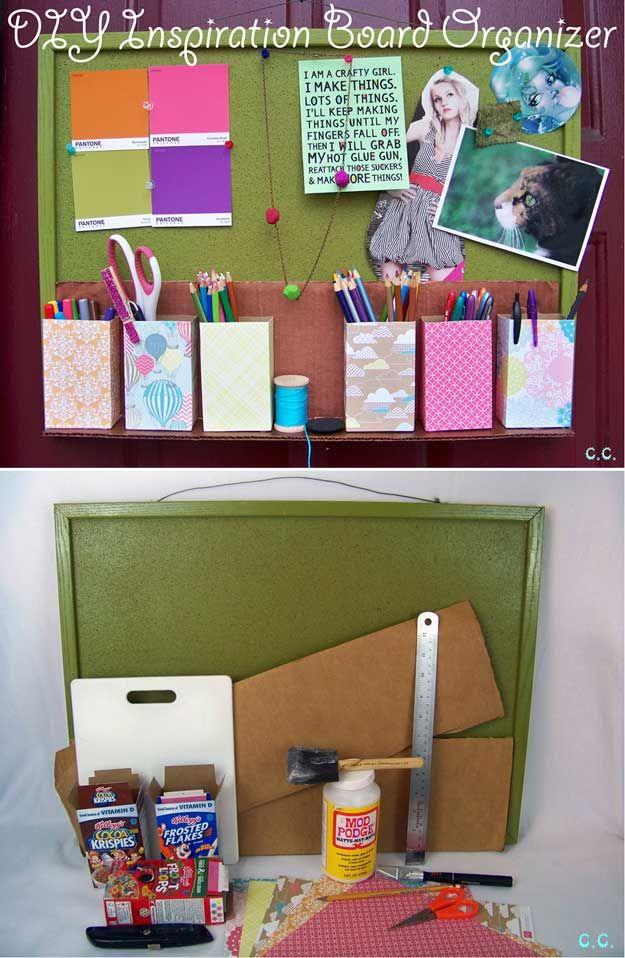 Cereal Box Crafts Diy Tutorial Diy Craft Projects Diy Diy