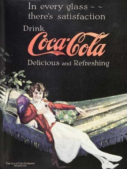Vintage Coke Coca Cola Advertisements Of The 1920s Coca Cola