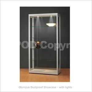 Olympus C1000 Dustproof Showcase Dust Free Display Cabinets