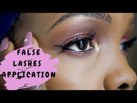 youtube  african natural hairstyles false lashes