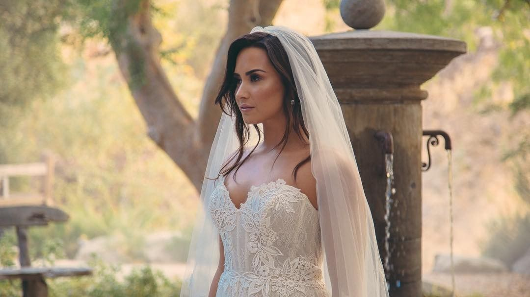 Marry Me Demi Lovato Wedding Dresses Demi