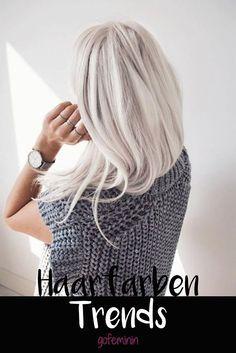 Das Sind Die Trend Haarfarben 2018 Welche Haarfarbe Haarfarbe