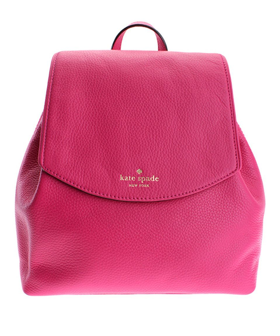2f60a78a92 Look what I found on  zulily! Kate Spade Sweetheart Pink Leather ...