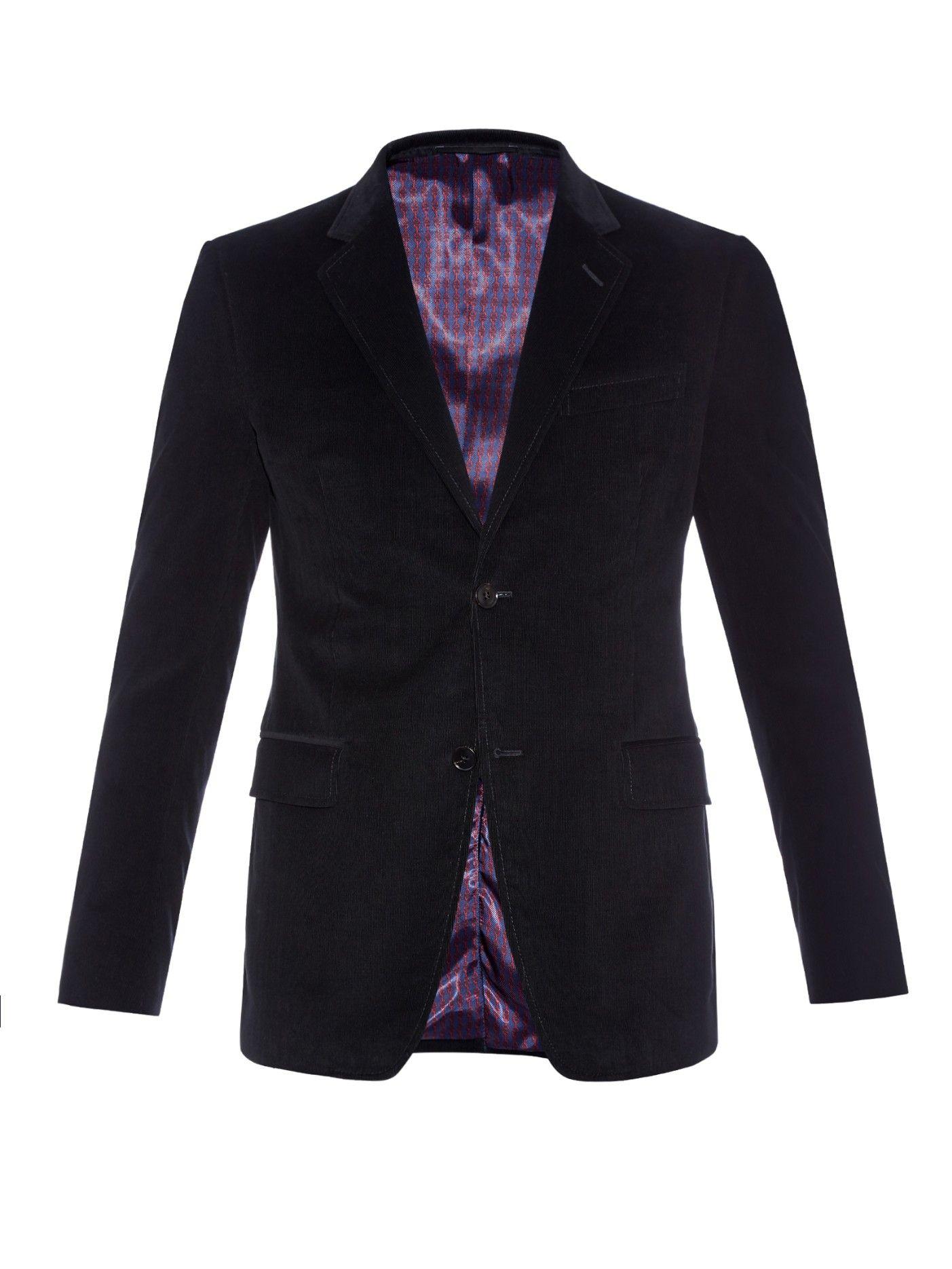 fe1d6f84b3e Brera cotton-corduroy blazer
