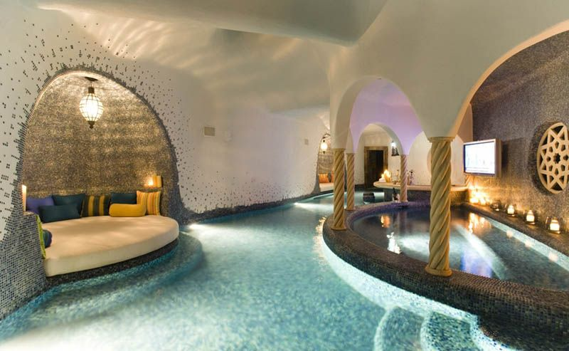 home indoor pool with bar. Another Section Of The Ultimate Swim Up Bar · Indoor PoolsSmall Home Pool With R