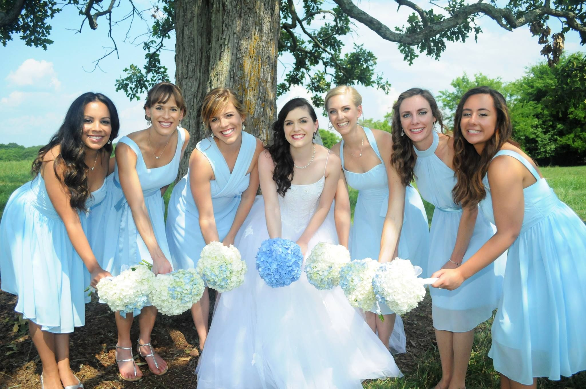 Carolina Blue Bridesmaid Dresses 3ClNj9k6 | Sarah\'s Bridesmaid Dress ...