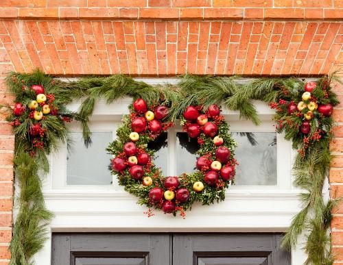Decorating Front Door Dream Home Sweepstakes Christmas Decorations