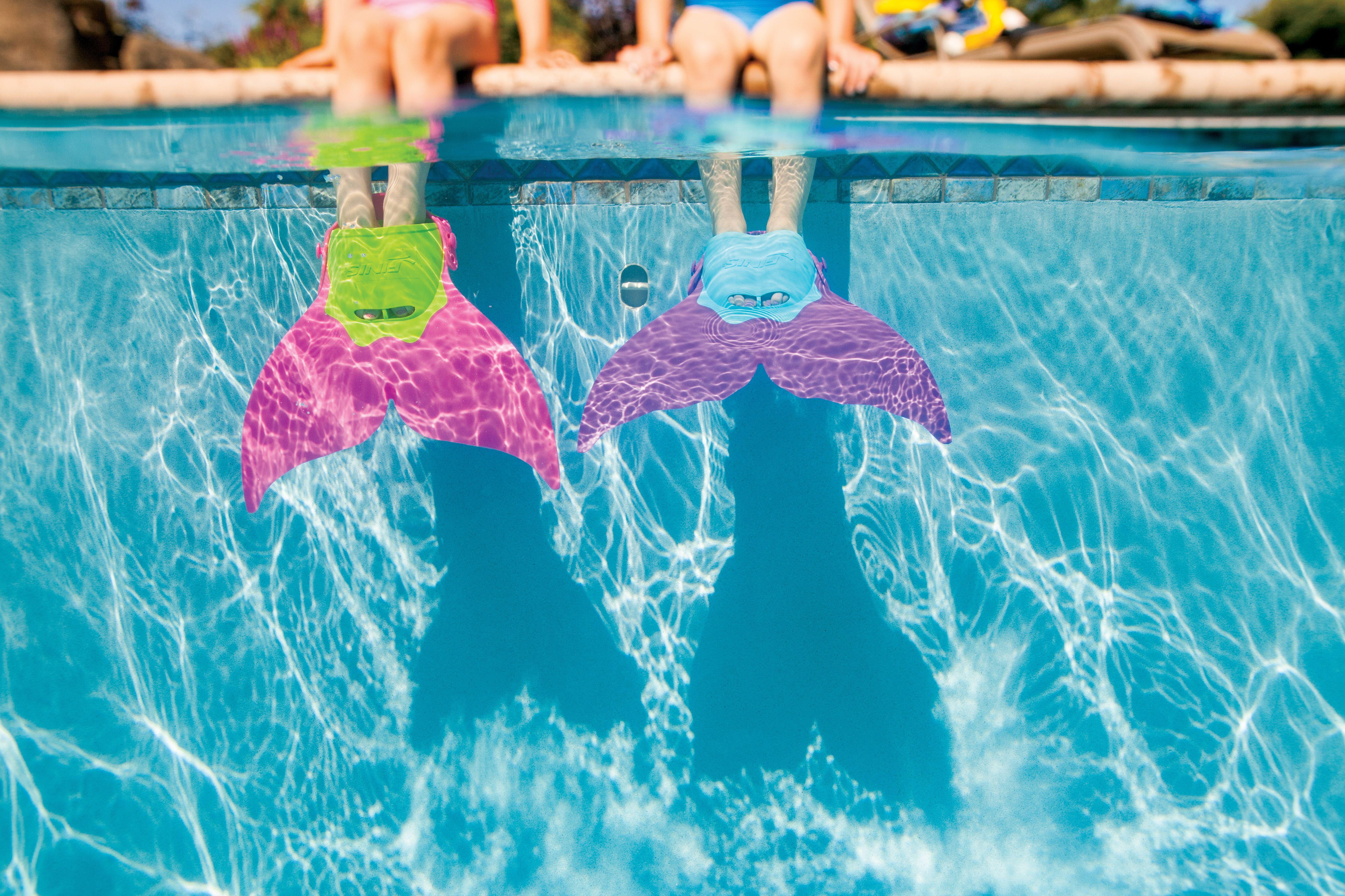 Finis Mermaid Swim Fin Pink Spielzeug für draußen