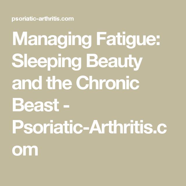 psoriatic arthritis and fatigue