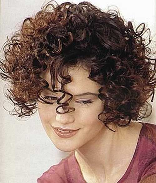 Short Hairstyles For Curly Frizzy Hair Short Curly Hair