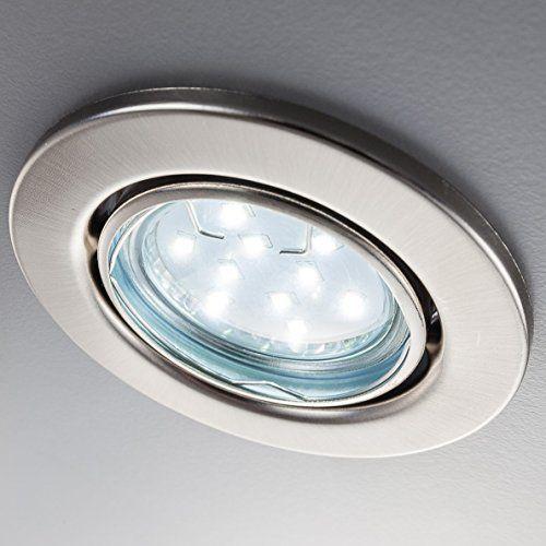 LED Einbaustrahler schwenkbar inkl 6 x 3W Leuchtm Amazon Pinterest - Led Einbauleuchten Küche