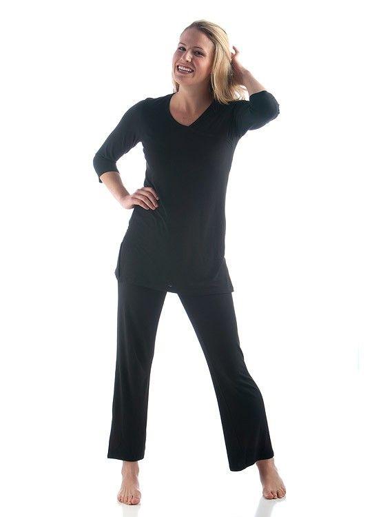 affd890d4b Eco Friendly Bamboo Pajamas - Haley Pajama Set - Yala Designs ...