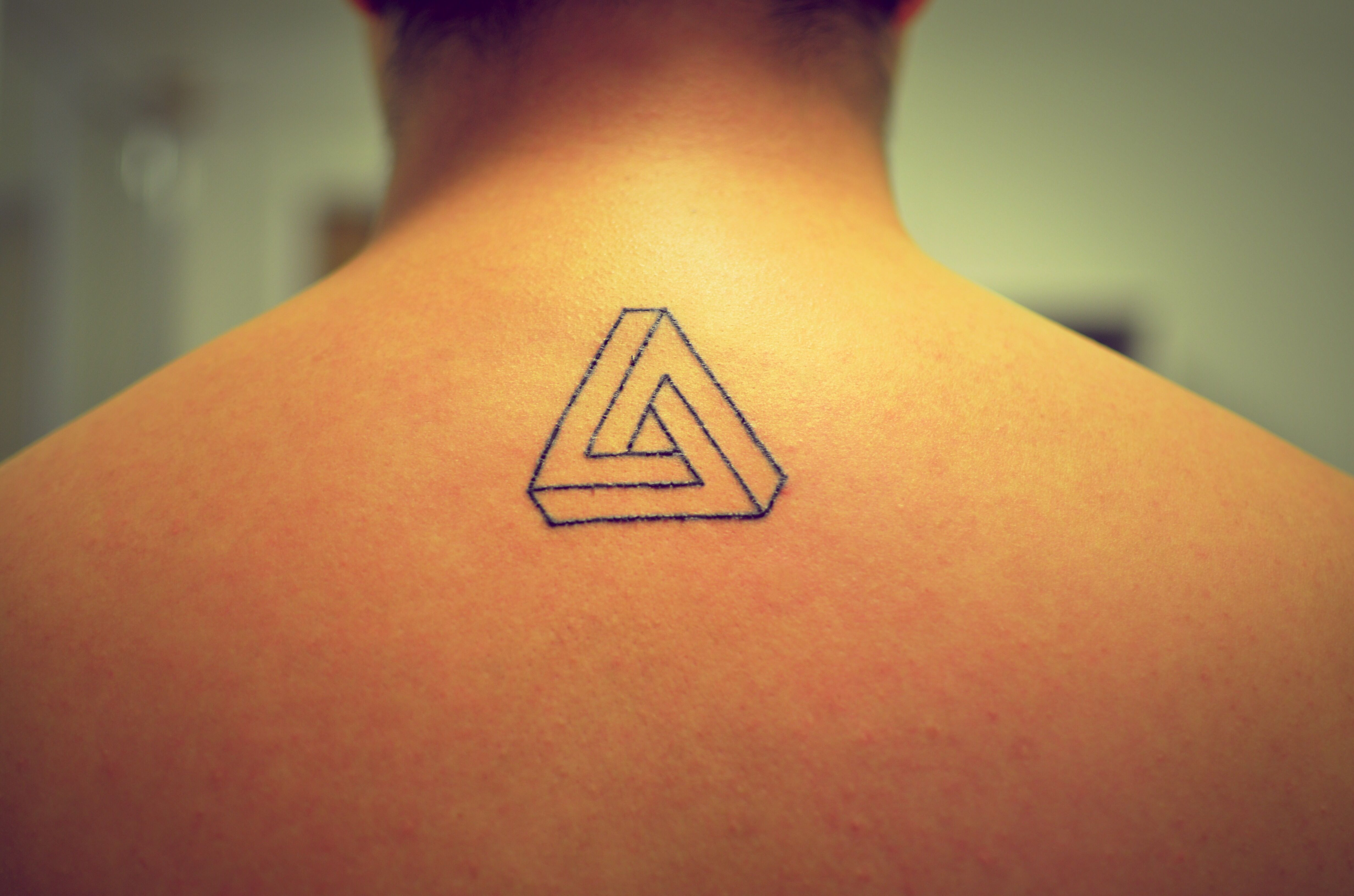 437bcfb99 Infinite Triangle Tattoo | Tattoos | Infinity tattoos, Triangle ...