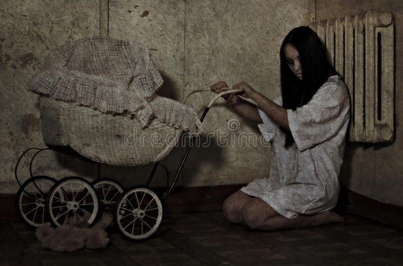 Horror. Girl from the horror movie ,