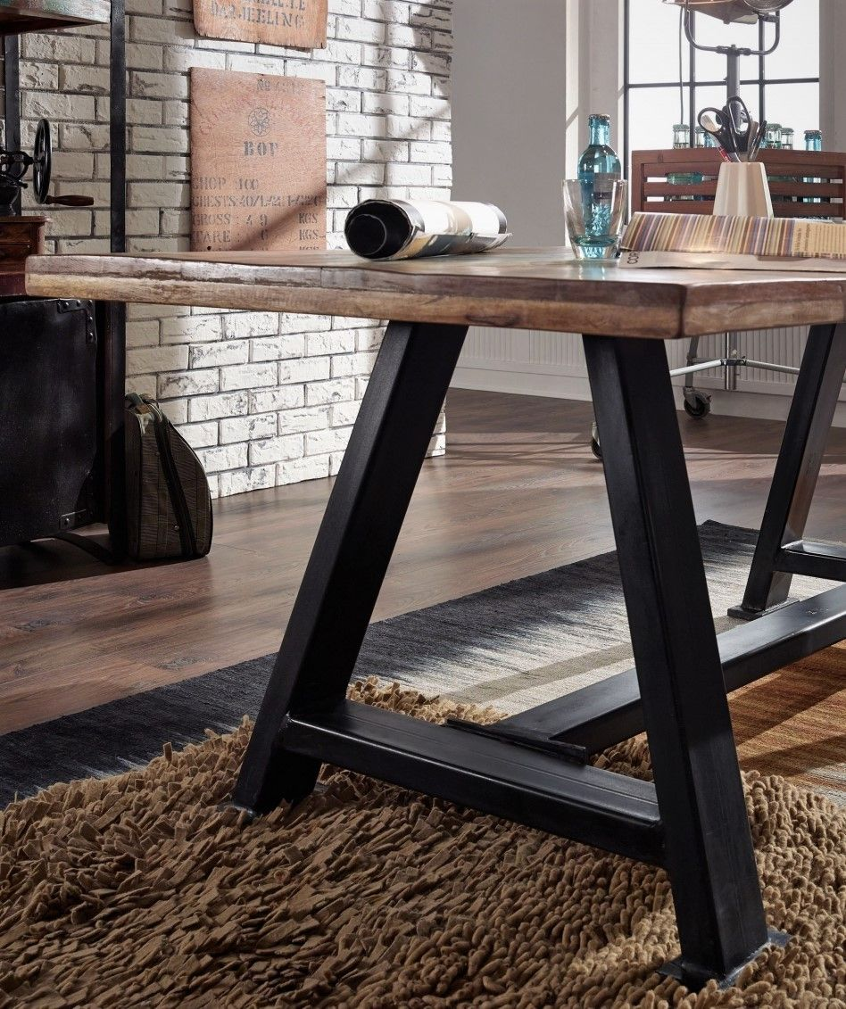 Möbel Altholz lackiert mehrfarbig INDUSTRIAL Massivholz in 2019 ...