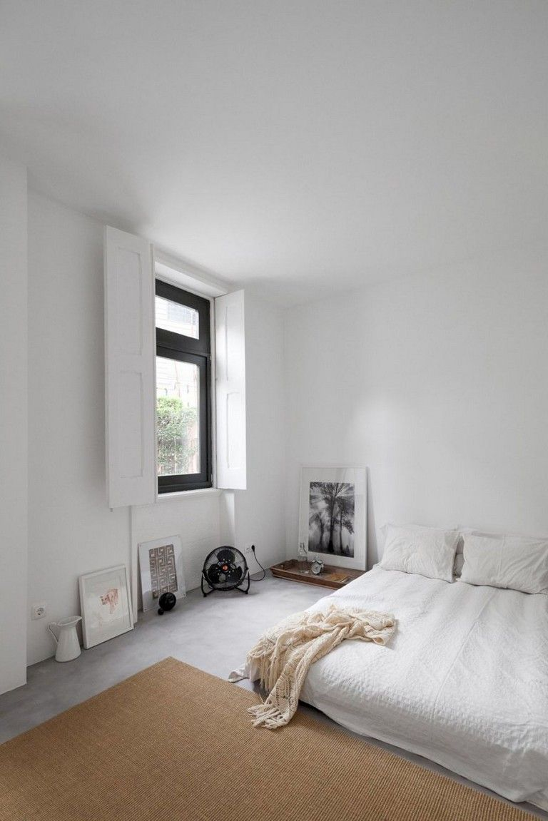 26 Cozy Minimalist Bedroom Ideas On A Budget Small Bedroom Remodel White Bedroom Design Guest Bedroom Remodel Minimalist bedroom design without