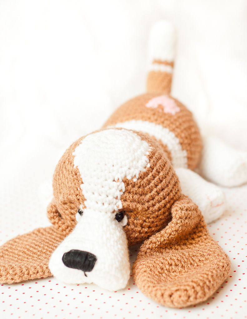 Baby Basset hound | Projects to Try | Pinterest | Patrones amigurumi ...