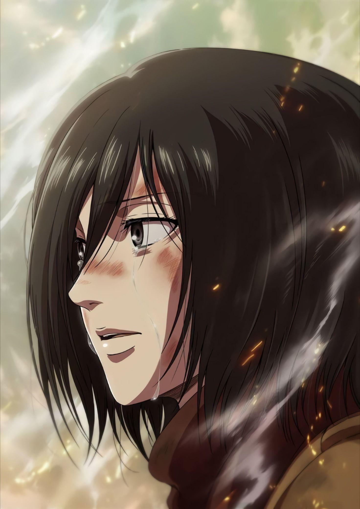 Attack_On_Titan,Mikasa [HD] в 2020 г Микаса, Милые