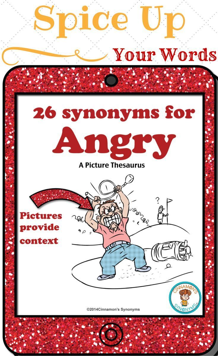This is a FREE sample. INSPIRE students to write more descriptively!! Perfect for teaching SHADES OF MEANING. The pictures on each page show CONTEXT so that students know EXACTLY how to use each synonym CORRECTLY!